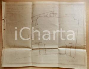 1927 MILANO Ing. Fausto DE DOMINICIS Planimetria per un nuovo cinema *Documento