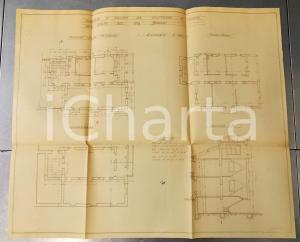 1926 CANTU' (CO) Progetto nuovo villino Famiglia BORGHI cm
