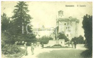 1913 BENEVENTO Il Castello *Cartolina postale ANIMATA FP VG