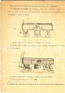 1899 MILANO Officine Meccaniche BOLTRI Essiccatori per granoturco *Pubblicitario