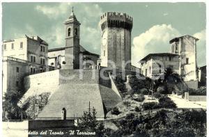 1957 SAN BENEDETTO DEL TRONTO (AP) Veduta del Torrione *Cartolina FG VG