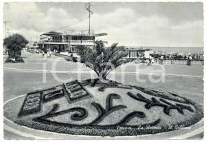1961 PESCARA Rotonda Stabilimento GABBIANO *Cartolina postale FG VG ANIMATA