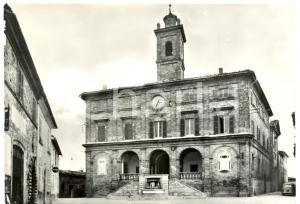 1950 ca FORCE (AP) Facciata Palazzo del Municipio *Cartolina postale FG NV