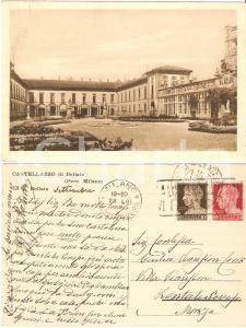 1928 CASTELLAZZO DI BOLLATE (MI) Villa ARCONATI *Cartolina a Giulia VIANSSON