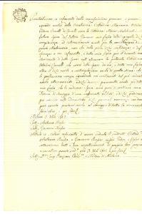 1802 MILANO Giuseppe BUSSA manterrà la moglie Maria MALCHINETTI con dignità