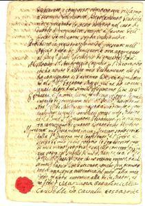 1791 MILANO Testamento marchesa Marianna OTTOLINI CRIVELLI CAVALLI *Manoscritto