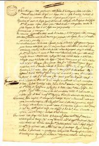 1805 MILANO Antonio BUSSA restituisce dote della nuora Maria MALCHINETTI vedova