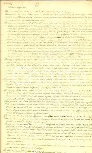 1837 MILANO Testamento di Paolo GALEAZZI a favore della moglie Maria MALCHINETTI