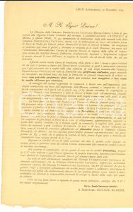 1895 MILANO Candele della CERERIA OSSERVATORE CATTOLICO per chierici poveri