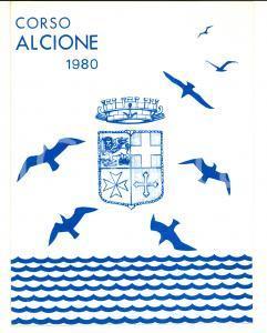 1980 Accademia Navale LIVORNO Riunione CORSO ALCIONE 1937-1940 40° Anniversario