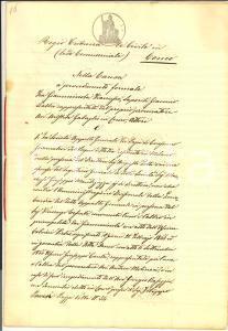 1866 COMO Lite Francesco GIAMMINOLA contro Ditta DANEO e Appalto DAZIO CONSUMO