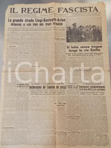 1944 IL REGIME FASCISTA RSI Armata tedesca oltrepassa LIEGI BASTOGNE e ARLON