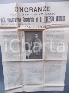1931 TRANI (BT) XXV anniversario della consacrazione di don Vincenzo VENTURA