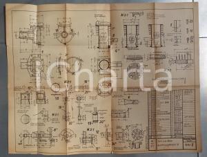 1941 GERMANIA Progetto per parti e componenti di motori FELGIEBEL
