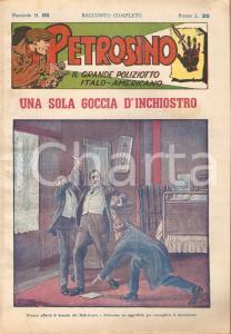 1949 POLIZIESCO Giuseppe PETROSINO - Una sola goccia d'inchiostro *Fascicolo 66