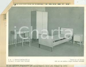 1943 BOLOGNA Mobili e arredamenti L'INVULNERABILE vibratori serrande *ILLUSTRATO