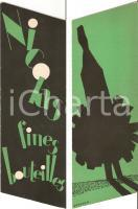 1965 ca FRANCE - NICOLAS fines bouteilles Imprimeur DRAEGER *Segnalibro