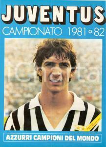 1981 - 1982 JUVENTUS Paolo ROSSI Campione del Mondo e PALLONE D'ORO *Locandina