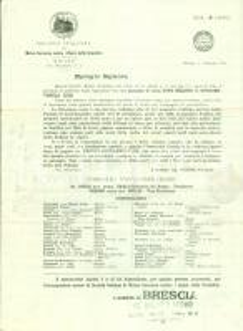 1916 MILANO Società Italiana Mutuo Soccorso Danni Grandine *Opuscolo
