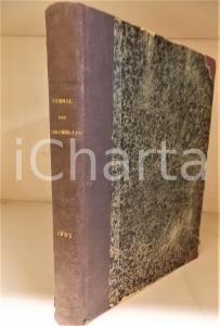 1907 JOURNAL DES DEMOISELLES Annata completa rilegata in volume *75° anno