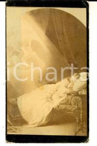 1888 MILANO Santino per Ambrogio BALOSSI MERLO con fotografia di dipinto