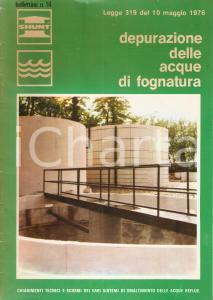 1976 CAPONAGO (MI) SHUNT Italiana Depurazione acque fognatura *Bollettino n.16