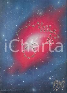 1998 ARMA CARABINIERI Calendario astronomico ILLUSTRATO
