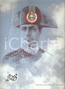 2003 ARMA CARABINIERI Calendario Sceneggiati RAI Illustrato Gabriele DELL'OTTO