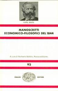 1973 Karl MARX Manoscritti economico-filosofici del 1844 *Ed. Einaudi TORINO