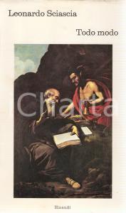 1974 Leonardo SCIASCIA Todo Modo PRIMA EDIZIONE *Edizioni EINAUDI I Coralli