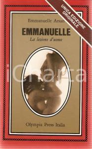 1975 Emmanuelle ARSAN - EMMANUELLE La lezione d'uomo *Ed. OLYMPIA PRESS