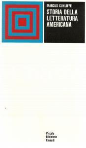 1974 Marcus CUNLIFFE Storia della letteratura americana *Edizioni EINAUDI