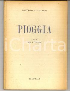 1945 Aldo CERCHIARI Pioggia *Ed. TONINELLI MILANO - Contrada dei Pittori