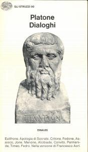 1976 PLATONE Dialoghi *Ed. Einaudi TORINO collana GLI STRUZZI n° 90