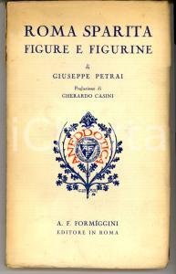 1932 Giuseppe PETRAI Roma sparita - Figure e figurine *Ed. FORMIGGINI