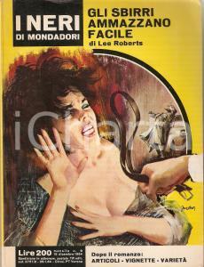 1964 Lee ROBERTS - GLI SBIRRI AMMAZZANO FACILE Copertina vintage di Carlo JACONO