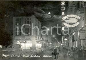 1965 REGGIO CALABRIA (RC) Veduta C.so Garibaldi  SFOGLIATE S. ROSA* Cartolina FG