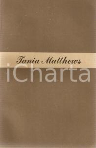 1950 Tania MATTHEWS La moglie russa *Ed. LONGANESI Collana Il cammeo n.39