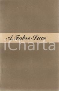 1948 Alfred FABRE - LUCE Un francese risponde *Ed. LONGANESI Mondo nuovo n.7