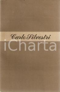 1948 Carlo SILVESTRI Contro la vendetta *Ed. LONGANESI Mondo nuovo n.13