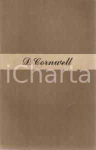 1947 Dorotea CORNWELL Difficile è cominciare *Ed. LONGANESI La ginestra n.3