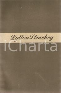 1949 Lytton STRACHEY Elisabetta d'Inghilterra e Conte d'Essex *LONGANESI Cammeo