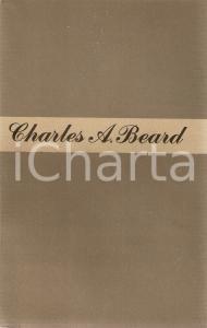 1948 Charles A. BEARD Storia delle responsabilità *Ed. LONGANESI Mondo nuovo n.9