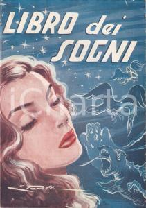 1954 Giuseppe BALSAMO Libro dei sogni e CABALA DEL LOTTO * Ed. GIACHINI Milano