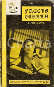 1959 Rod MARTIN Faccia gialla Ikuko MORI con serpente *Gialli della Gatta