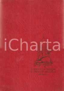 1968 MILANO Santa Maria della Passione Ingresso Don Carlo COSTAMAGNA DANNEGGIATO