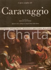1967 Angela OTTINO DELLA CHIESA Caravaggio Presentazione Renato GUTTUSO *RIZZOLI