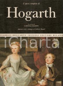 1967 Gabriele MANDEL Opera completa William HOGARTH Prefazione Gabriele BALDINI