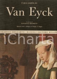 1968 Giorgio T. FAGGIN Opera completa VAN EYCK Prefazione Raffaello BRIGNETTI