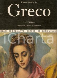 1969 Tiziana FRATI Opera completa EL GRECO Prefazione Gianna MANZINI Ed. RIZZOLI